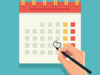 Organize-se: conheça o calendário de eventos deste mês!