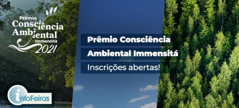 Espaço Immensità realizará prêmio que contempla instituições com responsabilidade ambiental